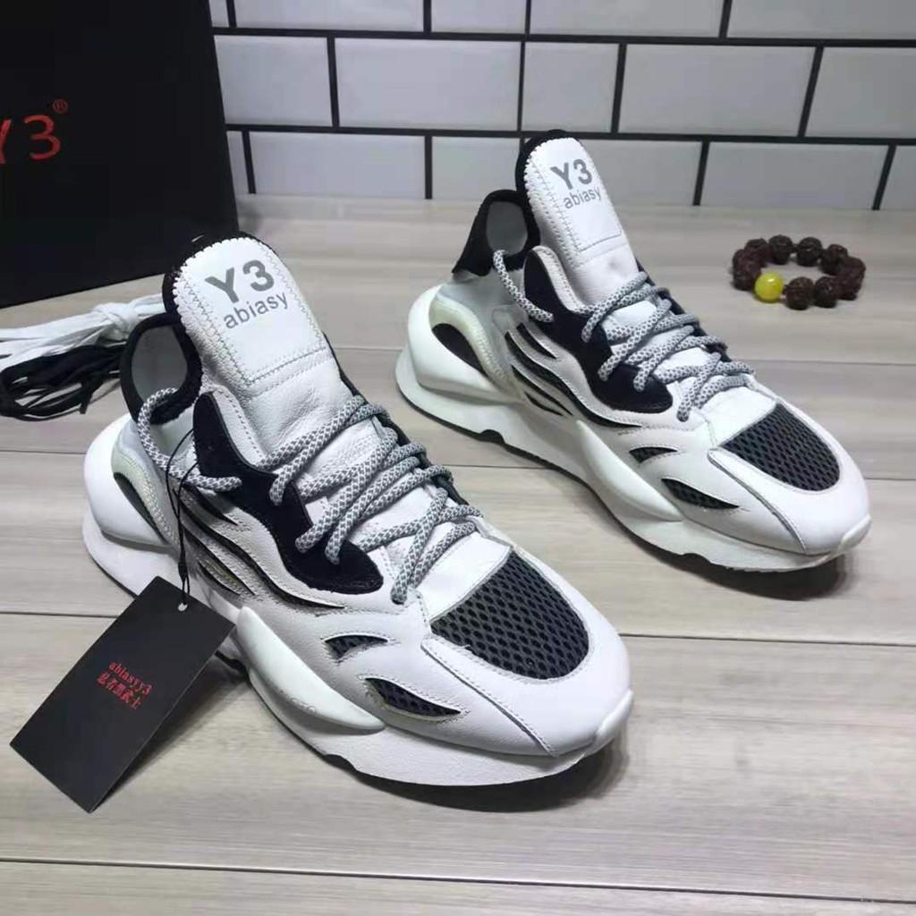 【高端品質】Adidas Y3 男鞋 休閒運動鞋 女鞋 跑步鞋 黑武士 老爹鞋 鞋子男 男女情侶鞋 鞋子