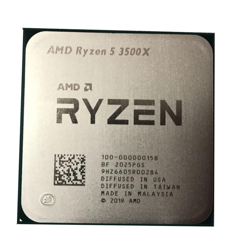 AMD銳龍R5電腦3500X處理器3600散片R7CPU3700套裝3800主板R9 3900