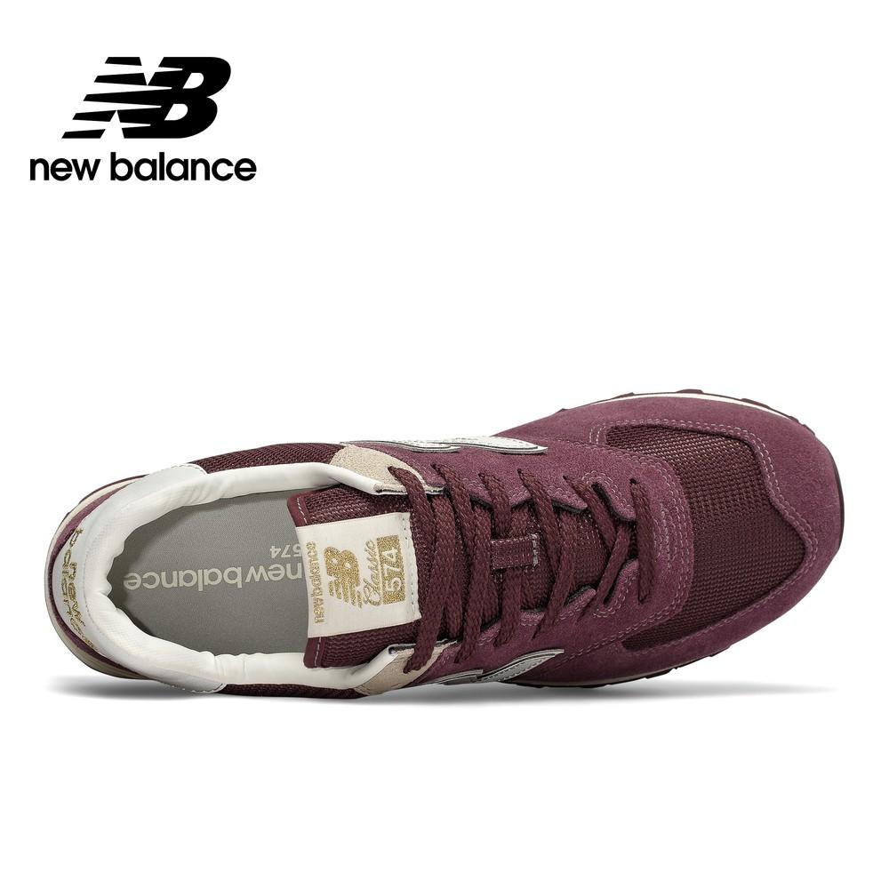 Notorio Novela de suspenso Armonía  New Balance】 復古鞋_男性_酒紅_ML574VLB-D楦574 | 蝦皮購物