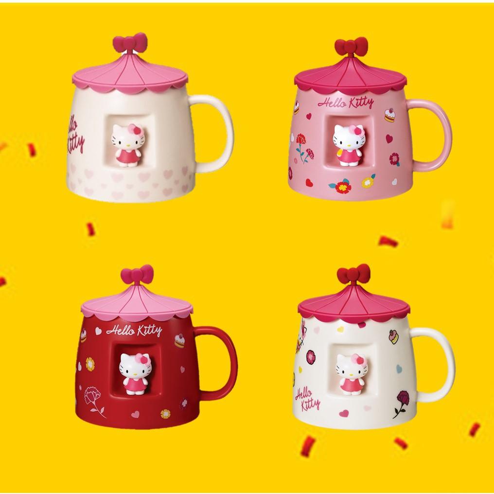 超級絕版品 85度C 限量版Hello Kitty公仔茶壺 馬克杯