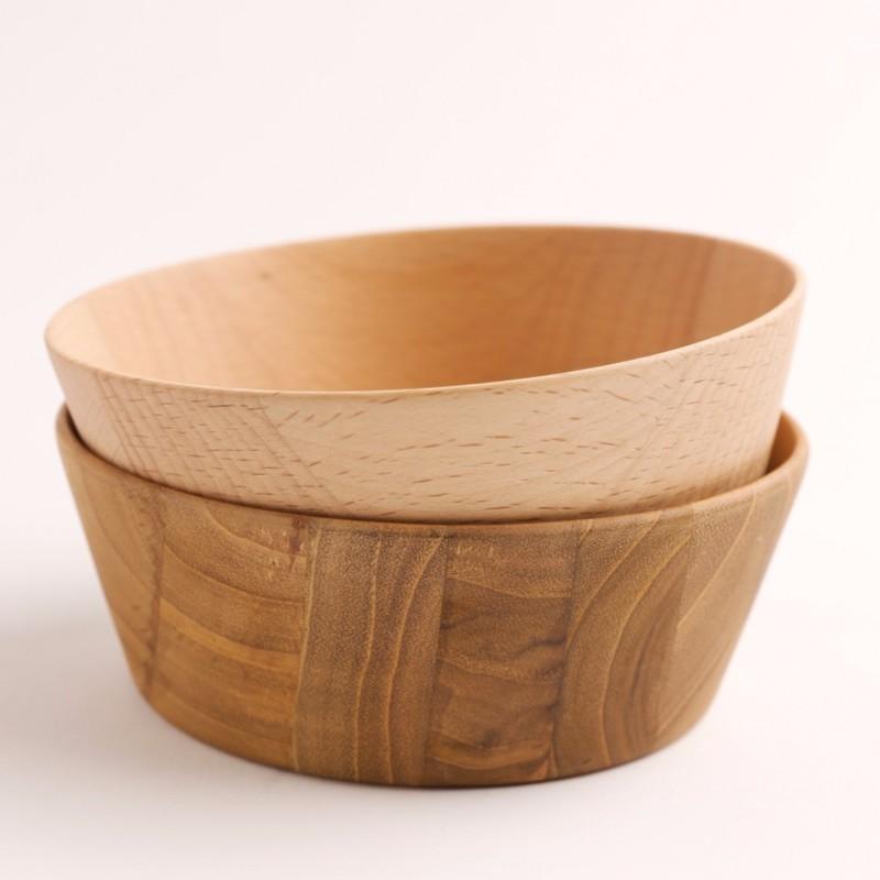 【CHABATREE】 MOON 餐碗 共2款《WUZ屋子》木碗 沙拉碗 點心碗 柚木