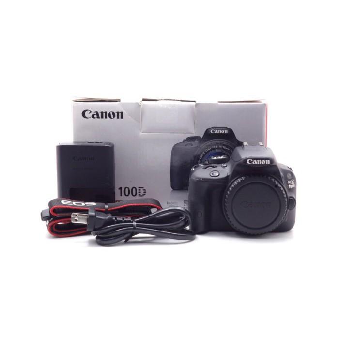 【莫比爾3C】Canon EOS 100D 單機身 二手 APS-C 單眼相機 快門次數約8,292 #59175