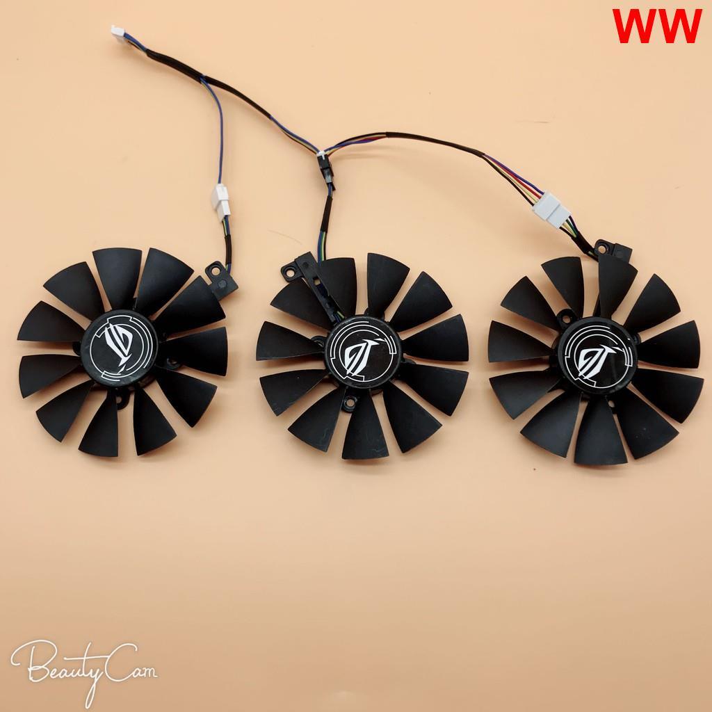 台灣現貨甩賣 華碩猛禽ROG STRIX GTX1060 1070 1080TI 顯卡風扇三風扇顯卡爆款熱銷