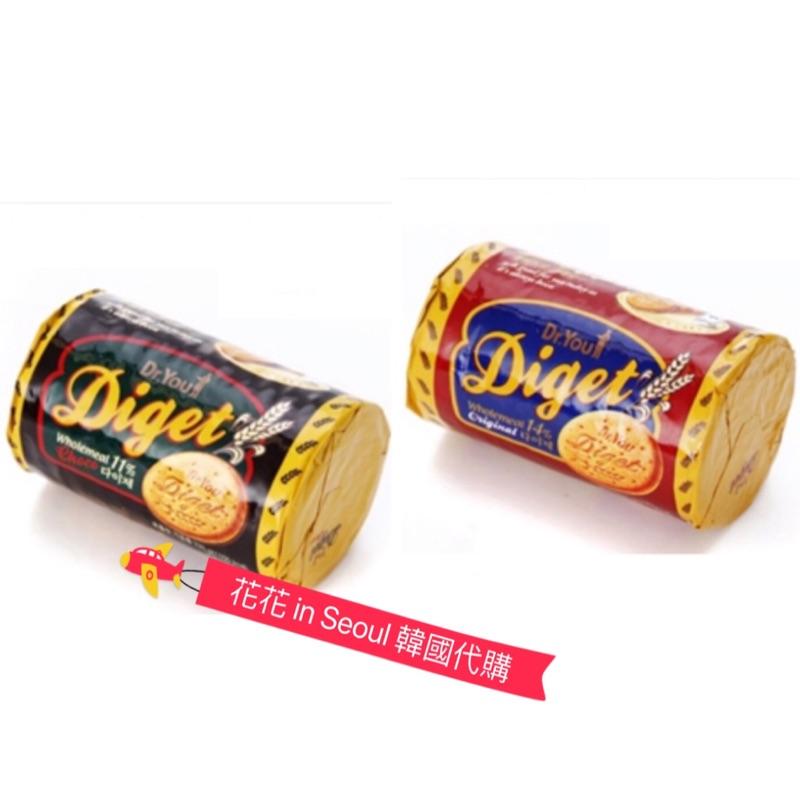 [花花🌺韓國直送] Dr. You 好麗友ORION Diget 巧克力消化餅 餅乾/能量餅乾/減肥餅乾/ 全麥消化餅