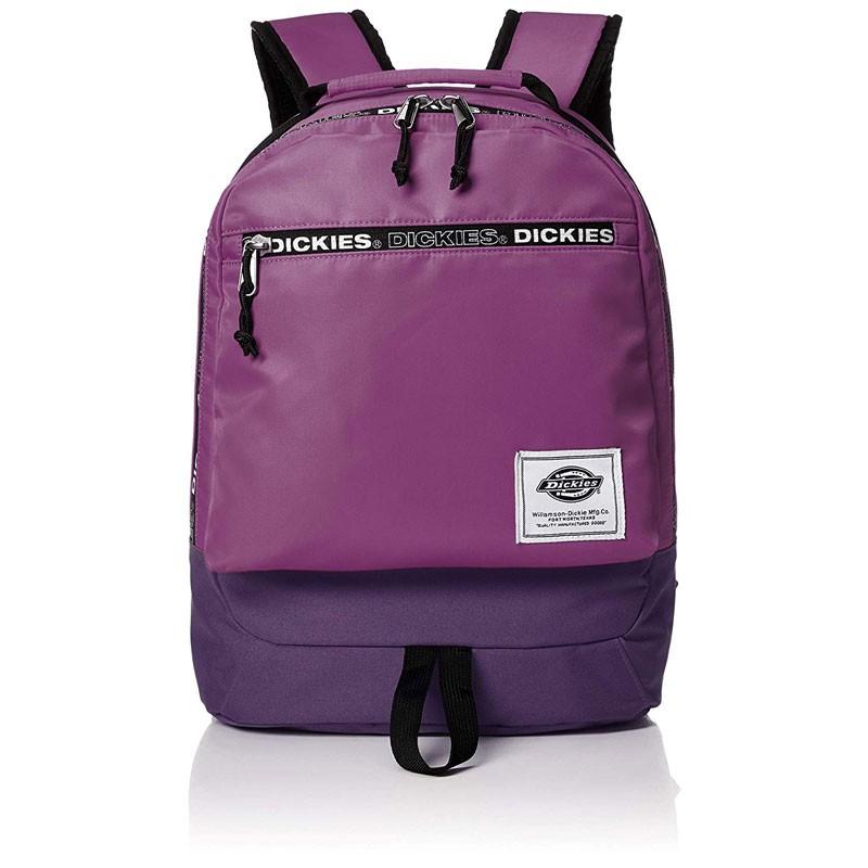 【DICKIES】14038700 LOGO ZIP BACKPACK 防潑水尼龍 織帶 後背包 (紫色) 化學原宿