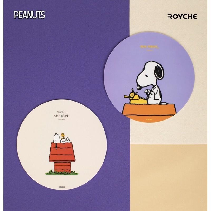 【預購】韓國 ROYCHE 史奴比滑鼠墊 SNOOPY滑鼠墊