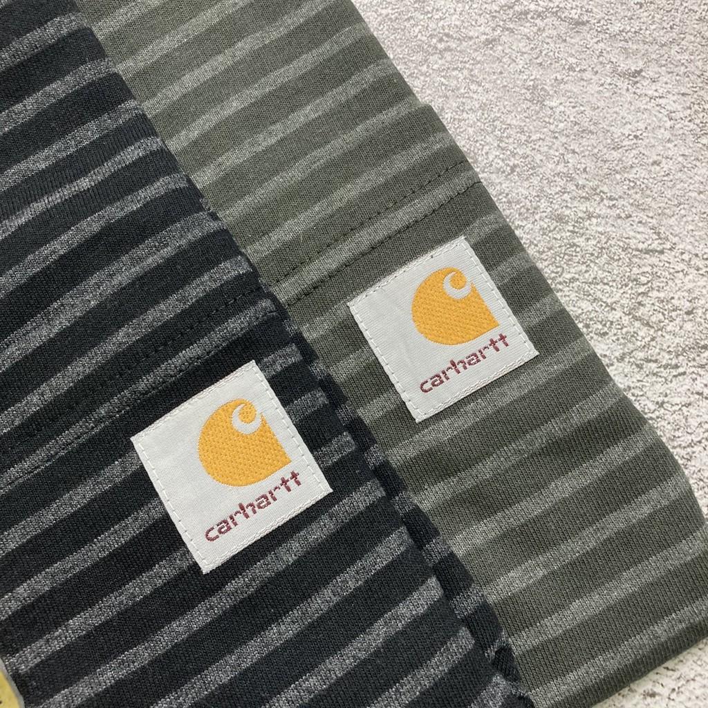 【MS2M】CARHARTT K87 重磅口袋短Tee 黑/綠條紋
