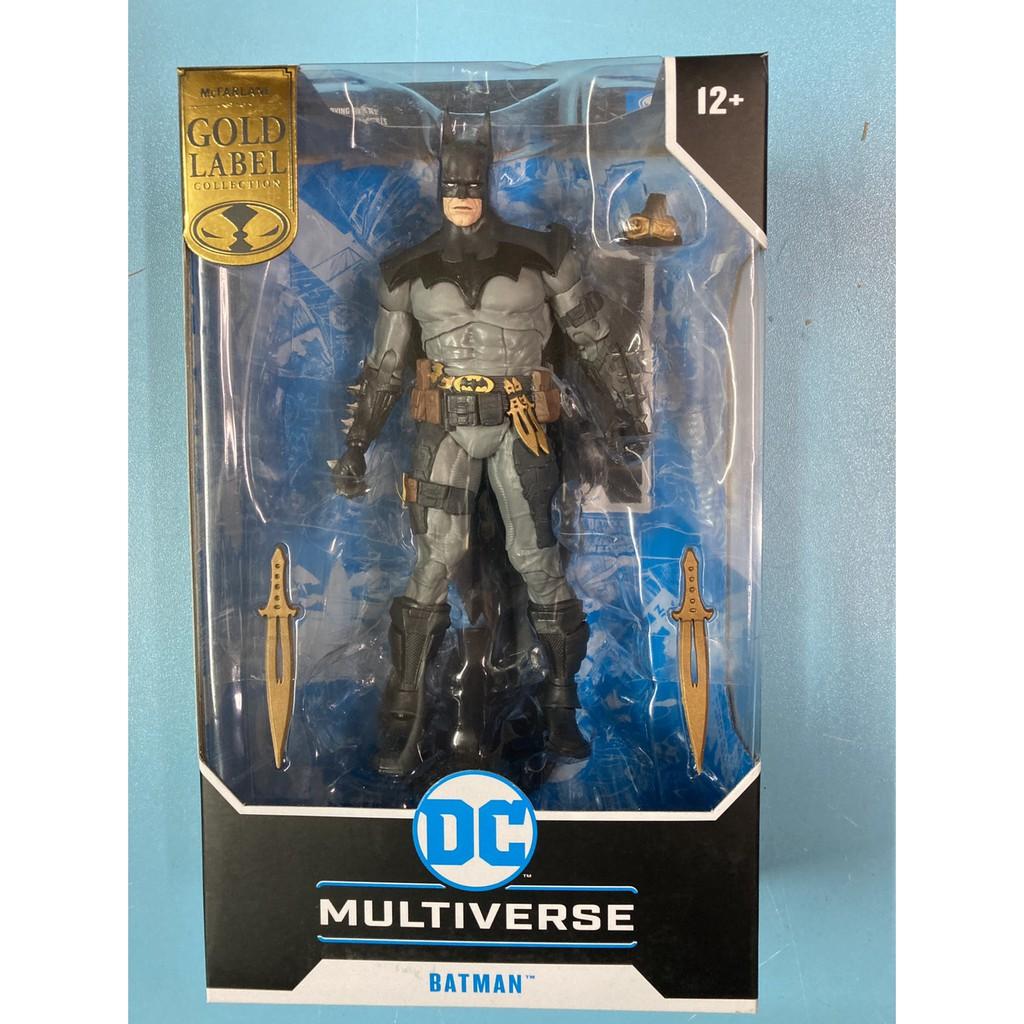 全新現貨 代理版 麥法蘭 DC Multiverse 7吋 黑暗騎士 Todd Batman 金標 限定 可動完成品