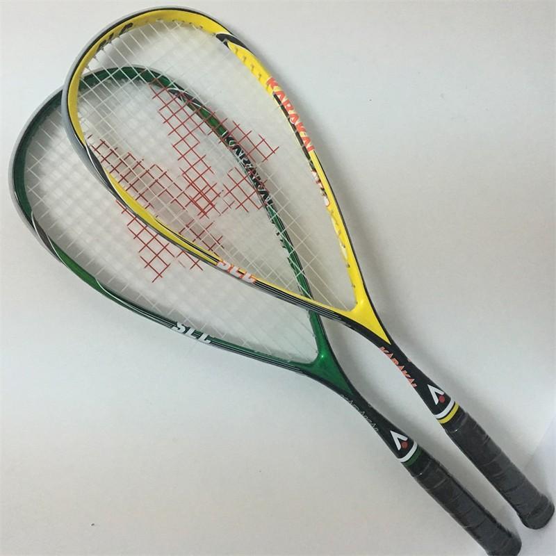 现货Hot selling squash racket made of  carbon fiber Karakal