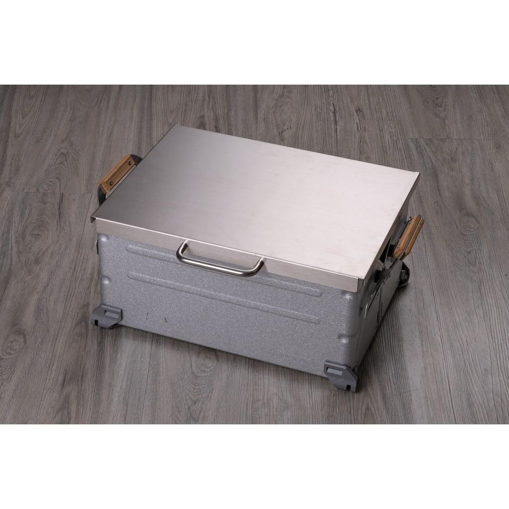 SNOW PEAK 收納置物箱(UG-025G) 專用不鏽鋼上蓋 (不含箱體) 免運