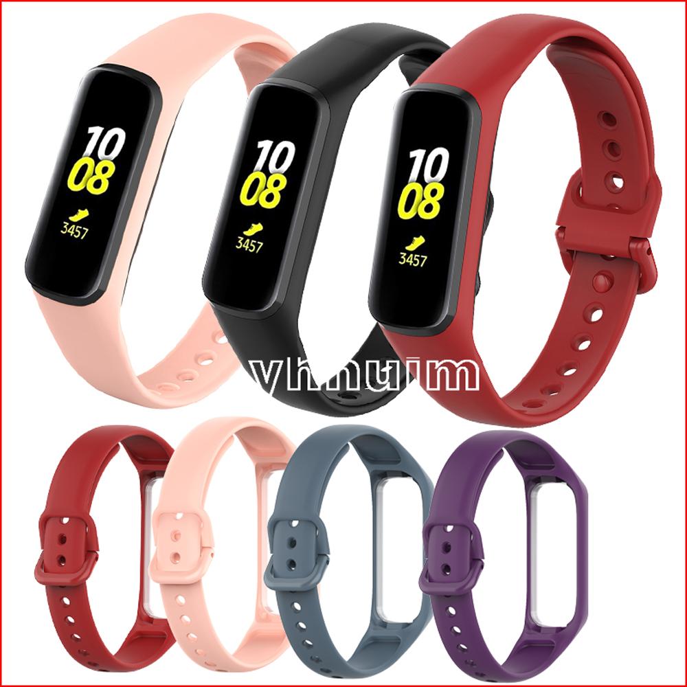 三星 Galaxy Fit2 錶帶 硅膠 galaxy watch fit 2 手表錶帶 替換腕帶 手環 矽膠錶帶 替換