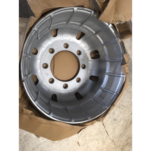 8孔 八孔 17噸 Isuzu 22.5吋 鋁圈 fuso hino 295 大貨車 大卡車 鋼圈