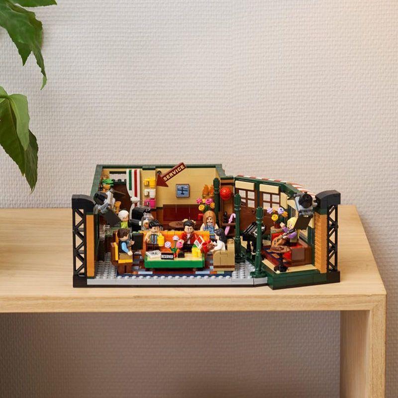喜事多樂高LEGO 21319 中央公園咖啡館老友記拼搭積木玩具