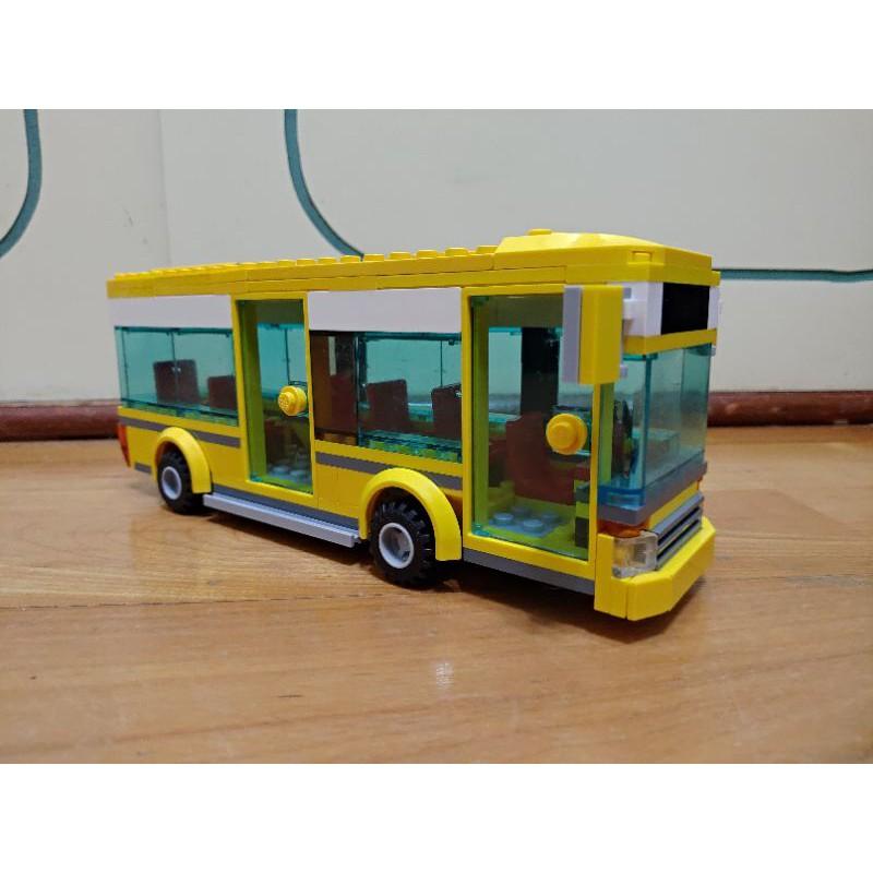 LEGO CITY 7641 樂高城市系列 城市一角 公車 巴士 藍色的玻璃版本!