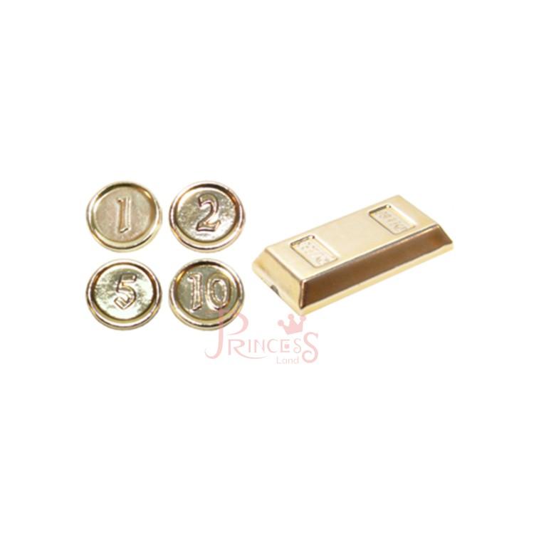 公主樂糕殿 LEGO 10251 銀行 金塊 金幣 黃金 電鍍 密封包裝 97053 C060