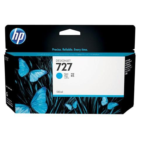 HP 惠普 B3P19A 727 130-ml Cyan 原廠墨水匣 藍色墨水匣 DesignJet T920 T930