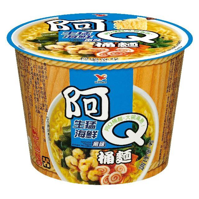 阿Q桶麵生猛海鮮12碗/箱
