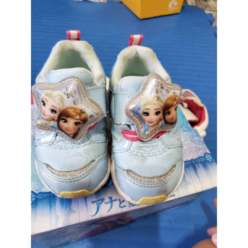 二手童鞋 moonstar 冰雪奇緣 電燈鞋
