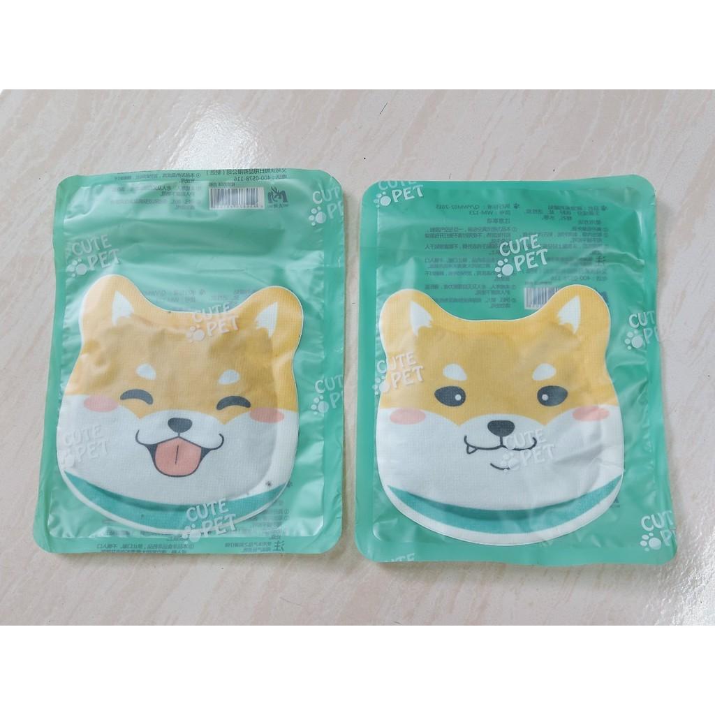 【暖貼】萌寵系列 可愛柴犬造型暖暖包