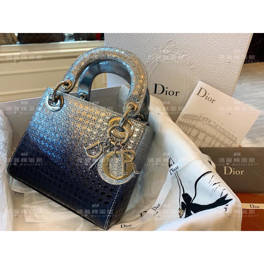 Dior•Lady Dior黛妃包💙💜d0205