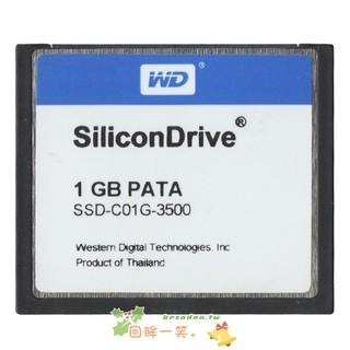 儲存卡——原裝 WD CF  1G 工業級存儲卡 Silicon CF卡 1GB SSD-C01GI工控用 桃園市