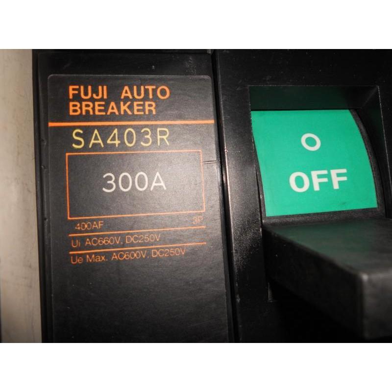 日本 FUJI 富士 無熔絲開關 SA403R 3P 250A 300A 350A 400A 85KA