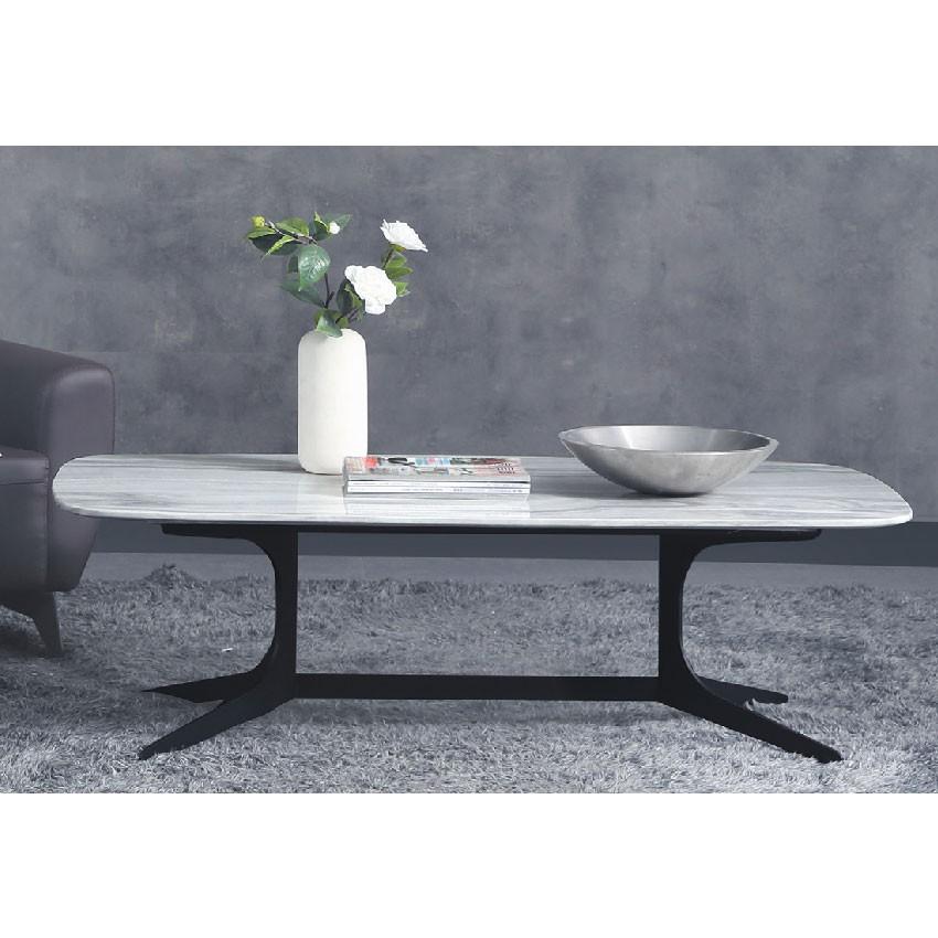 【130cm長方茶几-E371-7】實木原木玻璃 大理石長方桌 大小邊几 圓桌 【金滿屋】