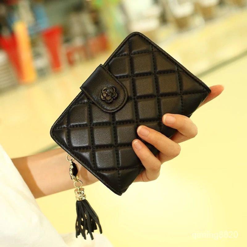 錢包女短款新款韓版拉鍊女士駕駛證包軟皮質感學生錢夾零錢包
