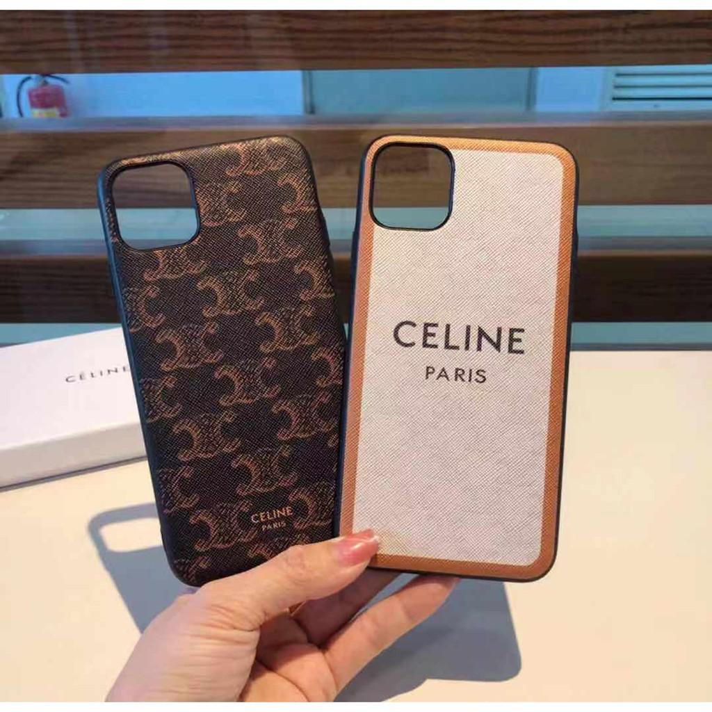 2021新品頂級高品質Celine老花Paris手機殼iphoneX XR XS XsMax 11 12pro可定制手機