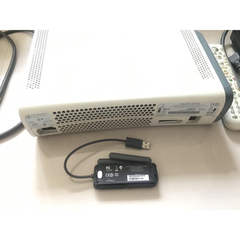 xbox360 主機 遙控器 無線網卡 無手把