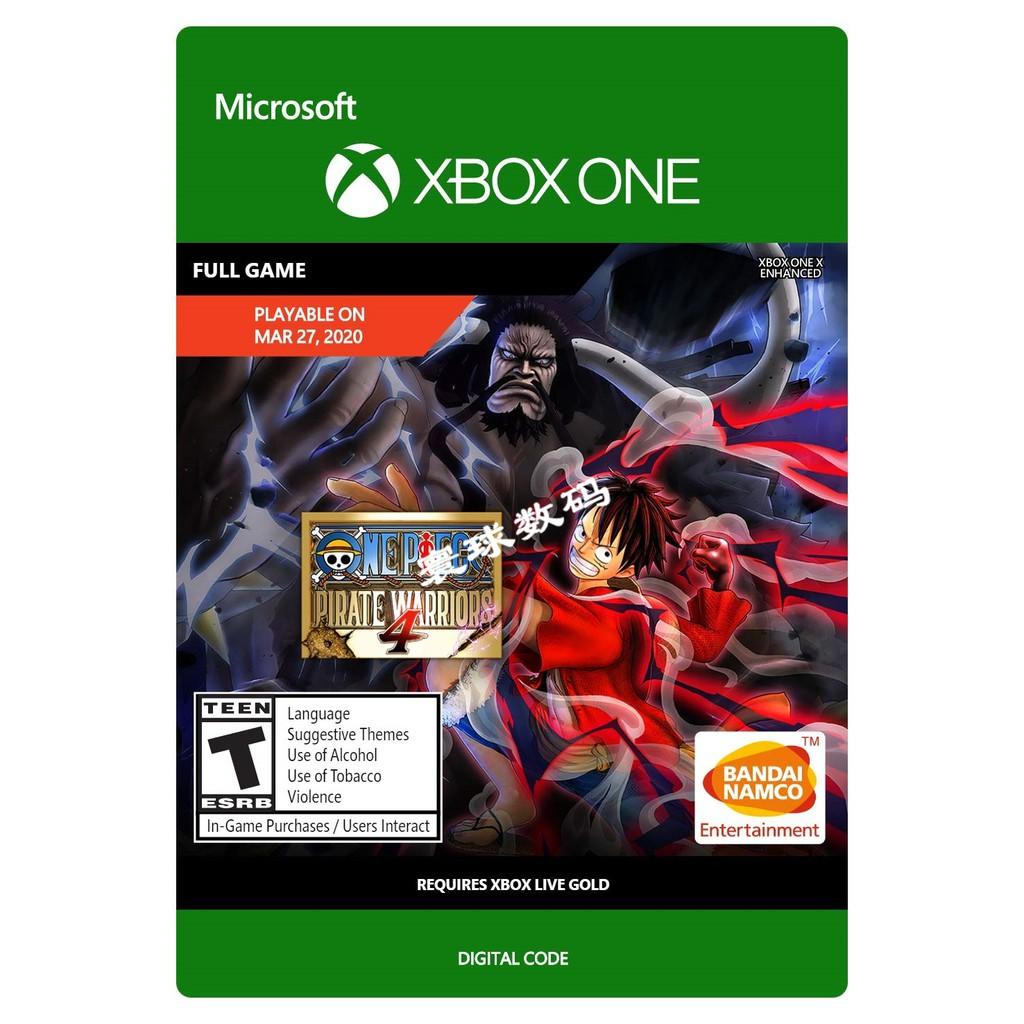 🏆🏆遊戲玩家🏆XBOX ONE 海賊無雙4 海賊王4 One Piece  數位版 下載碼 激活碼XBOX數位版