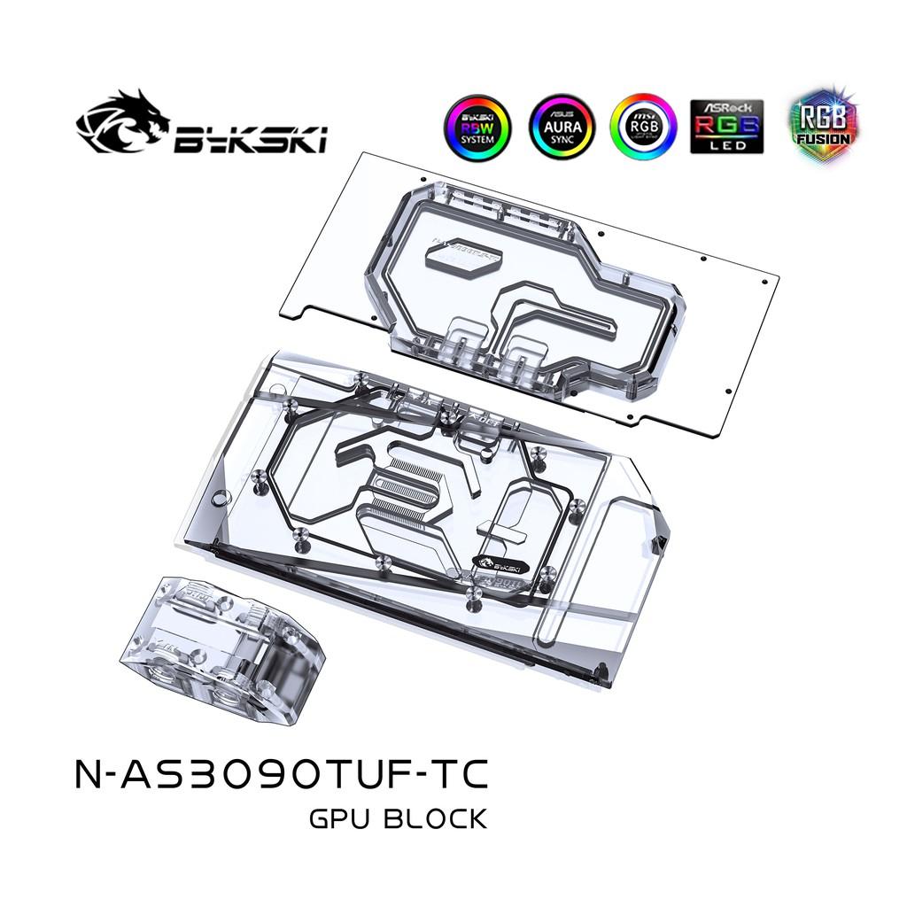 Bykski N-AS3090TUF-TC 背板水冷頭 華碩TUF RTX3090/3080 GAMING