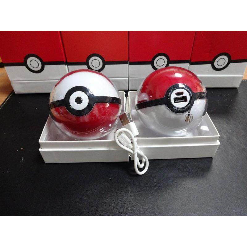 有小瑕疵特價品 寶貝球 Pokemon行動電源 第三代 投影皮卡丘 寶可夢 12000mAh 神奇寶貝球 限時特價
