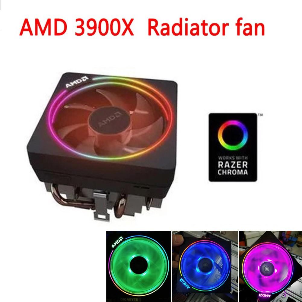 新型 Amd 原裝散熱台式風扇 R7 3900x Am4 與 Amd Ryzen R3 R5 1400 R7 1700