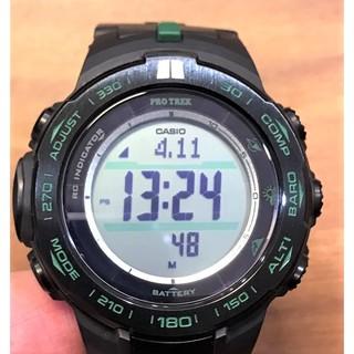 [ 實裝圖 ]圓形 手錶鋼化膜 玻璃膜   可用於 CASIO 卡西歐 PROTREK  登山錶 PRW-S3100-1 新北市