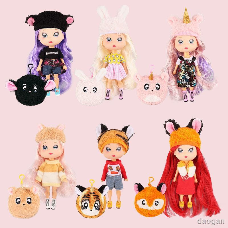 dao 現貨娜娜nanana驚喜娃娃lol盲盒正品泡泡瑪特芭比衣服公主玩具全套