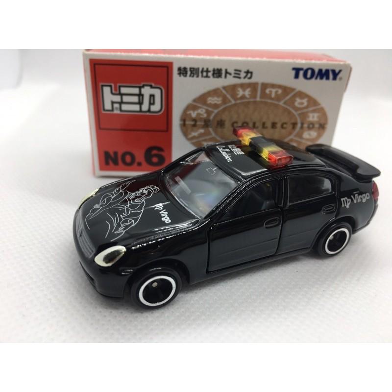 [FuFu日貨]トミカ TOMICA  舊藍標 星座系列 NO.6處女座 Nissan Skyline 引導車