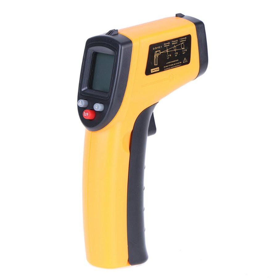 GM320工業紅外線測溫槍 非接觸式 測溫儀 手持測溫槍電子溫度計 溫感應式紅外線溫度計(不帶電池)
