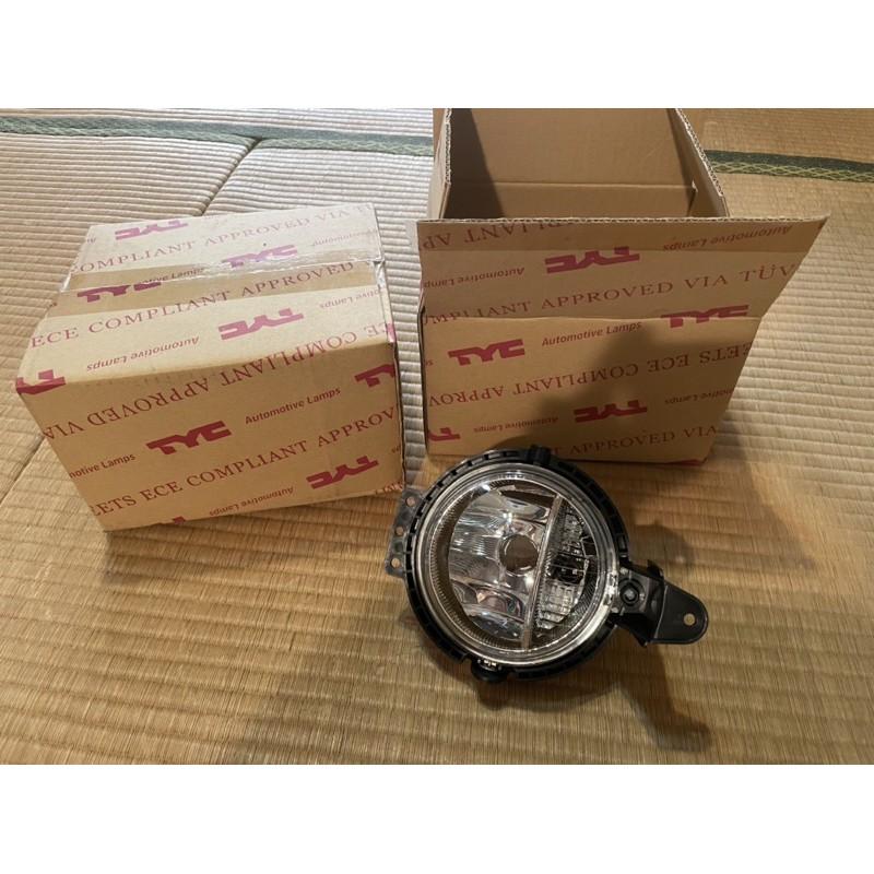 MINI cooper s R56 R60前霧燈(TYC貨)