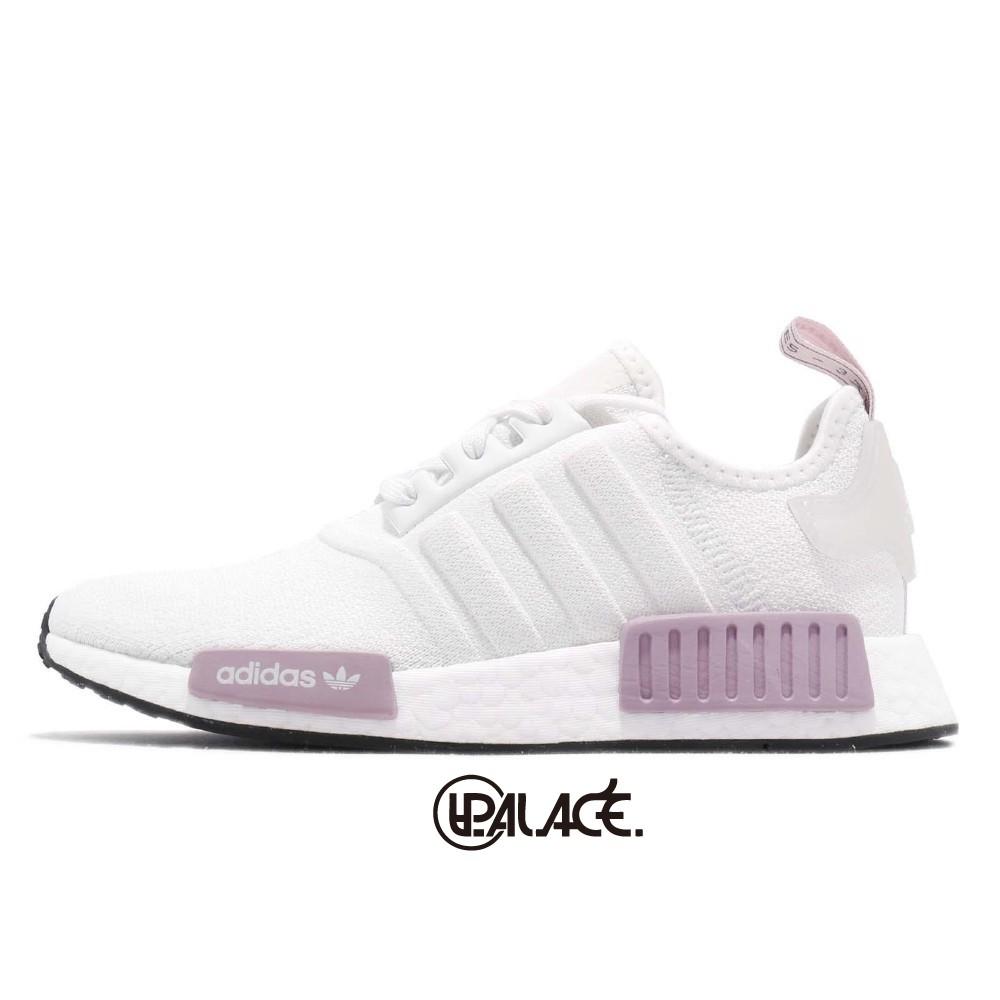 【ADIDAS】NMD_R1白紫 經典鞋 慢跑鞋 女鞋 BD8024 (Palace store)
