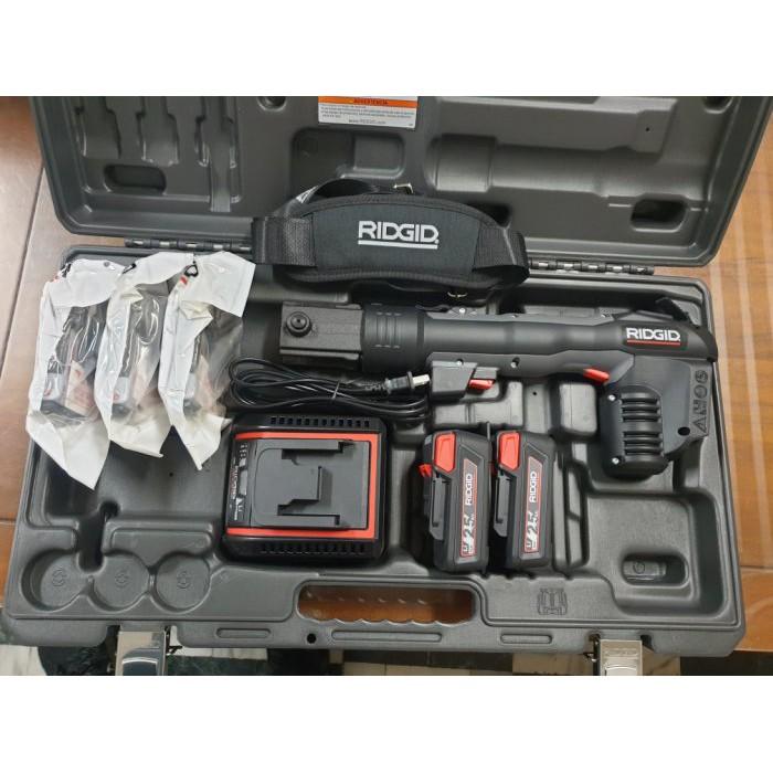 【泵浦五金】RIDGID RP318 里奇 不銹鋼管壓接機*壓接鉗* 同牧田18V電池