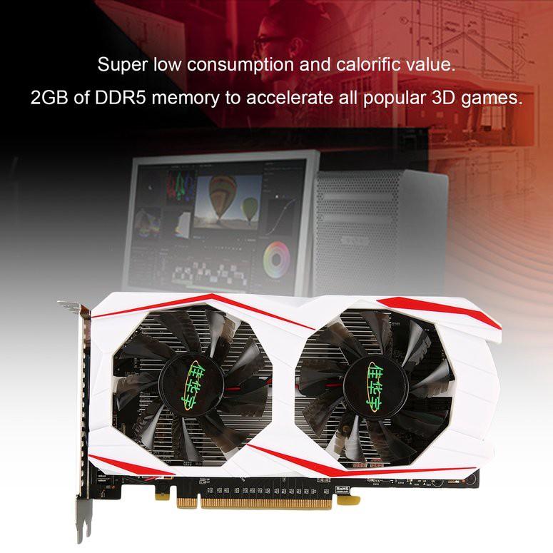 【現貨】用於GTX 750Ti的2GB DDR5 128Bit PCI-Express VGA / DVI / HDMI