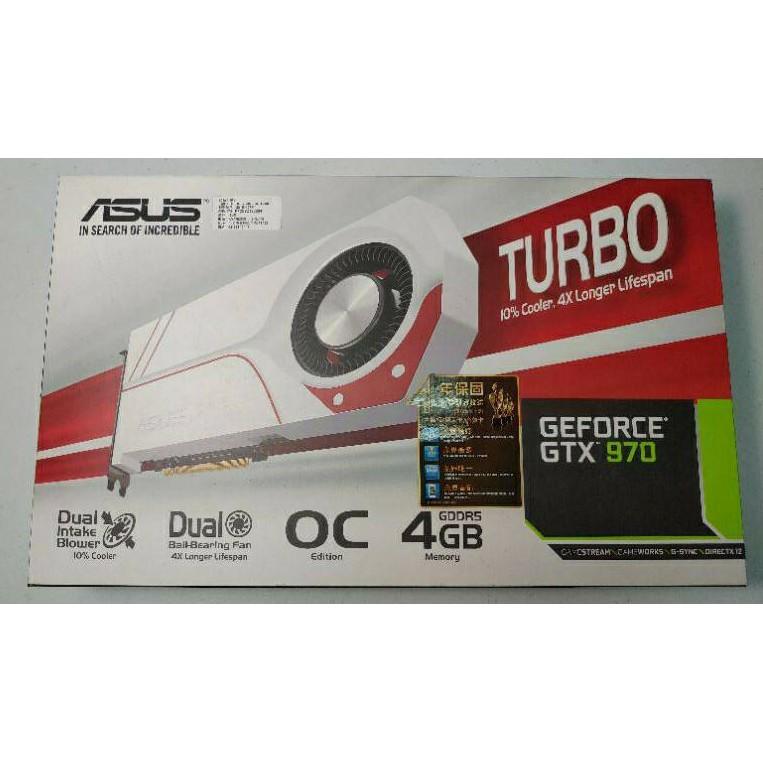 免運 ASUS GTX970 4GB 二手顯卡 顯示卡