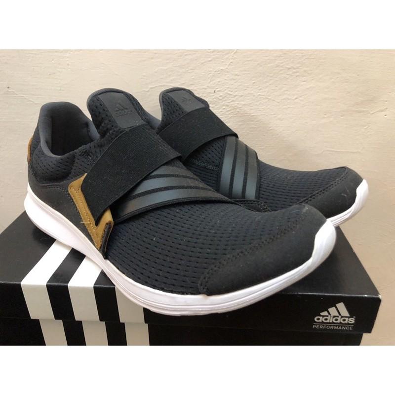 Adidas lite slipon m 慢跑鞋 綁帶鞋 懶人鞋 US9