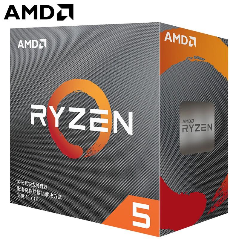 ❒AMD 銳龍 R5-3500X/3600 三代處理器R7-3800X/3700x CPU R9-3900X CC