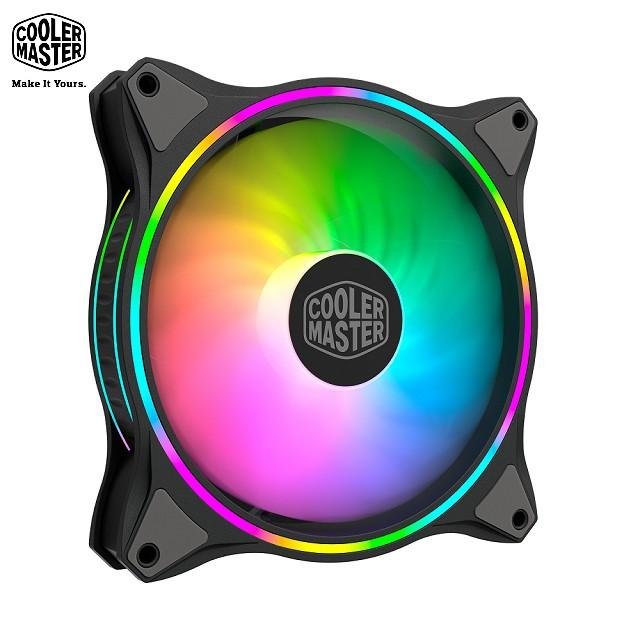 Cooler Master 酷碼 MasterFan MF140 HALO 黑色 ARGB風扇 代理商公司貨 兩年保固