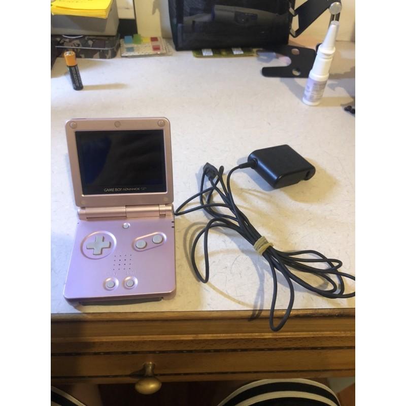 Nintendo Advance sp (ags-101)高亮版 稀有 玫瑰金