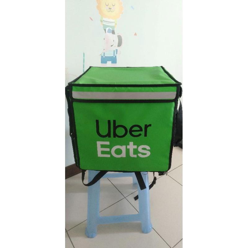 Uber eats官方保溫箱保溫袋二手九成新