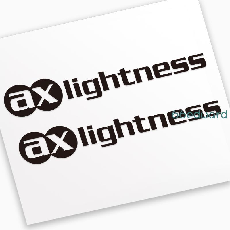 現貨直發📢AX ax-lightness貼紙公路車山地車架輪組輪圈把立座管座桿款式3