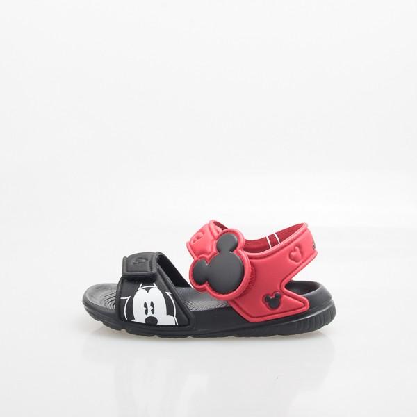 ADIDAS Disney Mickey 小童 米奇 運動涼鞋-黑/紅 BA9303
